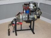 Двигатель ЗМЗ-402 в разрезе.