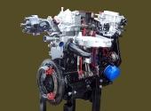 Двигатель ВАЗ-21083 в разрезе.