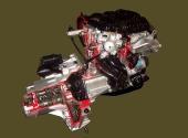 Макет двигателя с коробкой передач ВАЗ-2112.