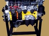 Двигатель автомобиля КамАЗ в разрезе. (К-740)