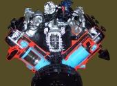 Двигатель ЯМЗ-236 в разрезе.