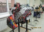 Дизельный двигатель К-740 со сцеплением
