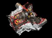 Макет автоматической трансмиссии Nissan