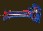 Гидравлический рулевой механизм трактора МТЗ-80 в разрезе.
