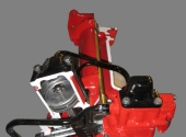 Рулевое управление МТЗ-80 в разрезе.