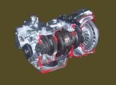 ГМП ЛиАЗ-677 в разрезе.