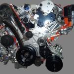 Двигатель Мерседес Бенц дизель V6 ОМ642 (3) в разрезе