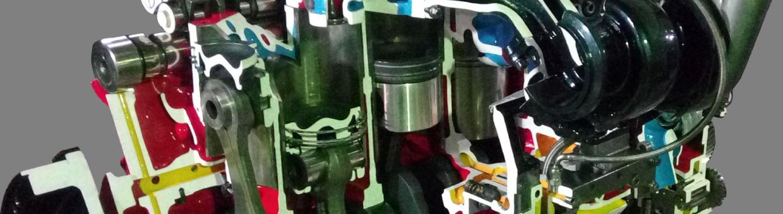 Производство разрезанных моделей узлов и агрегатов